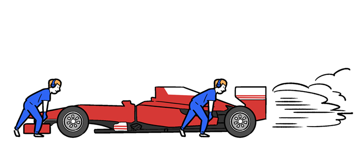 F1のイラスト
